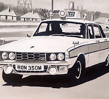 Rover P6 3500 V8 Police Car by sidfox