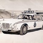 Jaguar XJ6 Police Car by sidfox