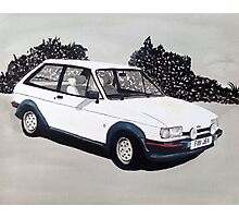 Mk.2 Ford Fiesta XR2 Photographic Print