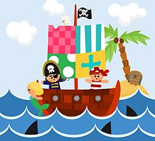 PIRATE SHIP (AQUATIC VEHICLE) by alapapaju