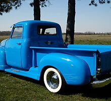 1950 Chevrolet Pick Up Baby Blue by Randy & Kay Branham