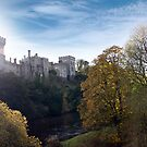 Lismore castle over the blackwater river by morrbyte
