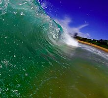 Crashing wave by MitzPicz