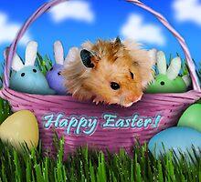 Easter Hamster by jkartlife