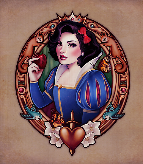 The Fairest - PRINT by MeganLara