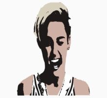Miley Cyrus Wink by bhm57