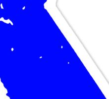California in Blue Sticker