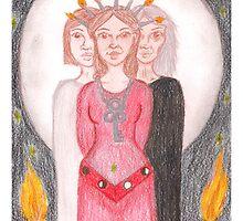 Goddess - Hekate by Paola Suarez