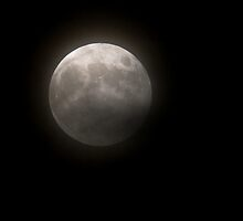 Penumbral Eclipse of the Full Hunters Moon by Otto Danby II