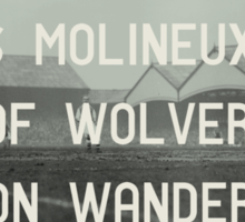 Woverhampton Wanderers Football Club Sticker
