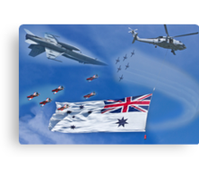 Aircraft from Sydney Navy Review Metal Print