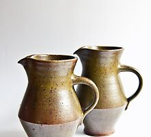 Danish Stoneware Jugs  by Ray Garrod