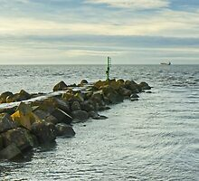 Workington Harbour Breakwater 1 by VoluntaryRanger