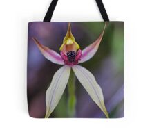 Leaping Spider Orchid Tote Bag
