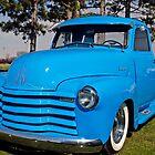Baby Blue Chevy From 1950 by Randy & Kay Branham