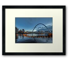 Millennium Bridge Newcastle Framed Print