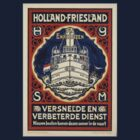 Holland travel Poster T shirt. by davegow