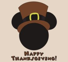 Mickey Mouse Thanksgiving Pilgrim  by sweetsisters