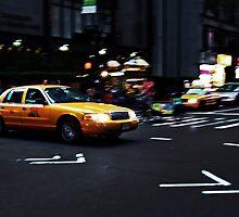 New York City Cab by Matthias Keysermann