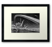 Newcastle Cityscape Framed Print