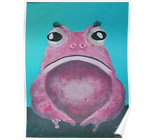A rare Pink Lady Toad Poster