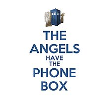 The Angels Have The Phone Box (Color Version) Photographic Print
