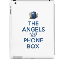 The Angels Have The Phone Box (Color Version) iPad Case/Skin