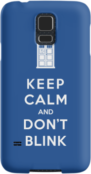 Keep Calm And Don't Blink by Phaedrart
