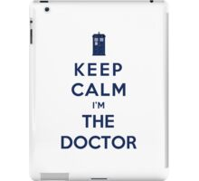 Keep Calm I Am The Doctor (Color Version) iPad Case/Skin