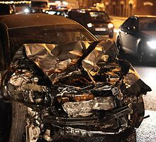 accident at night by mrivserg