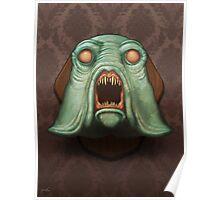 Swamp Alien Poster