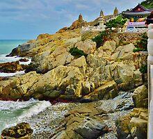 Dragon Temple - Busan, South Korea by Fike2308