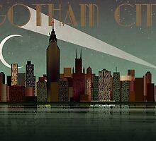Gotham City by Wyattdesign