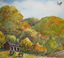 Ohio Landscape by Jeanne Vail