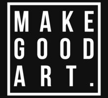 make good art by typographical