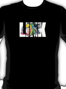 Toon Link Text (Black) T-Shirt