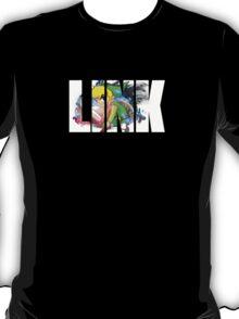 Toon Link Text (Green) T-Shirt