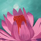Pink Lotus by Wendy Sinclair