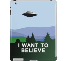 I want to believe iPhone case iPad Case/Skin