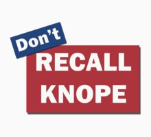 Don't Recall Knope by HighDesign