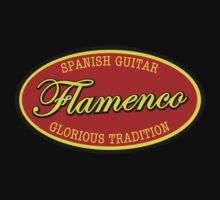 Flamenco  Sign  decoration Clothing & Stickers by goodmusic