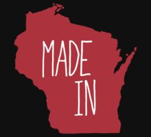 Made in Wisconsin - Red Kids Clothes