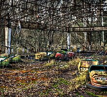 Abandoned Bumper Cars Prypiat/Chernobyl by pixog