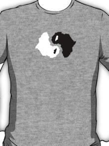 Africa ying yang T-Shirt