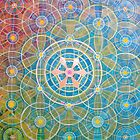Flower of life by Abi Abbott