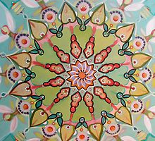 Mandala of Infinite possibility by Abi Abbott