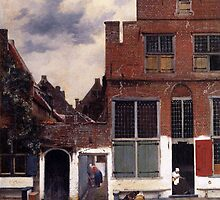 Johannes Vermeer - The Little Street by madisonavenue