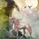 fantasy unicorn by Ancello