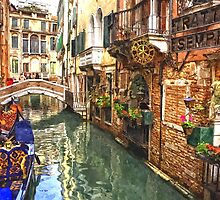 Venice Canal Serenity by Sanely Great