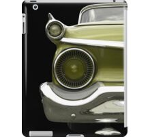 Back (green) iPad Case/Skin